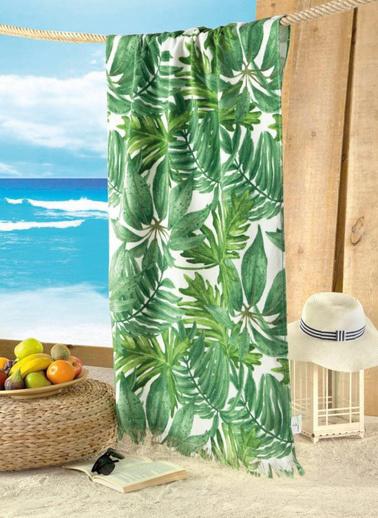 Maxstyle Kadife Plaj Havlusu Hawaı 70X160 Renkli